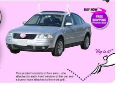 Get hoppin along the Easter parade route with your Easter Bunny car!