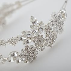 Bridal Headpiece Double Wedding Headband with by WeddingAndGems, £165.99