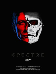 Poster Posse tribute to the latest James Bond movie Spectre. James Bond Movie Posters, Best Movie Posters, James Bond Movies, Movie Poster Art, James Bond Theme, Book Posters, Spectre Movie, 007 Spectre, Spectre 2015
