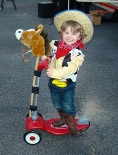 diy woody costume, made one for Gavin this last halloween!