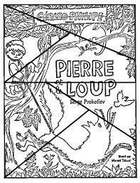 Puzzle, Pierre et le loup