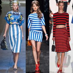 Looking beyond the classic blue and white breton stripe, nautical inspired clothing expands its horizons for spring 2013. Here's how the trend is…