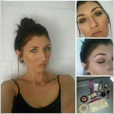 Day time work look...very natural with a nice glow. #loreal #maybelline #nyc #barrym #thebalm #milani #milanicosmetics #rimmel #essence #freelance #makeupartist