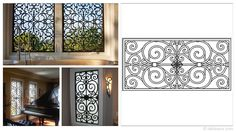 Rectangular 47×23-inch Tableaux Faux Iron Window Treatments are sustainable, fine home decor window treatments that are easy to install and dazzling to the eye. Delight your friends, family and neighbors with functional artwork that will never cease to amaze! For pricing and product details, please visit FauxIronDIRECT.com or call 1 (800)281-9963 today!