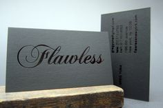 Foil Stamp | Printing, Letterpress, New York 10013