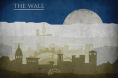 """Minimalist """"Game Of Thrones"""" Castles (includes The Wall, Pyke, The Eyrie, King's Landing, and Winterfell)"""