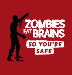 You know... he's talking about you. #zombies