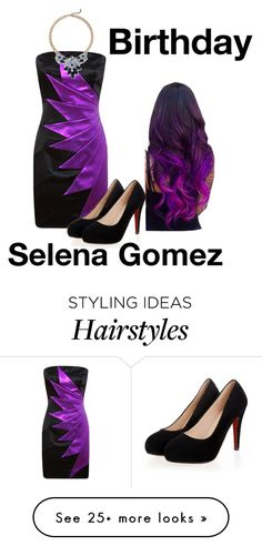 """""""Happy as can be // Falling into you, // Falling into me (so yummy)"""" by sjc1999 on Polyvore featuring birthday and selenagomez"""