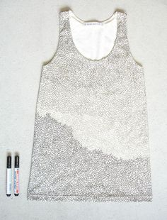 T-Shirt Designed with Sharpies