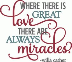 Silhouette Design Store - View Design #55225: kolette - great love miracles - layered phrase