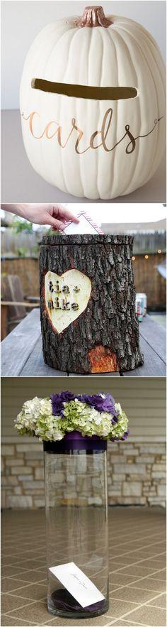 diy rustic wedding card box ideas step by step