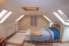 fitted storage space in loft