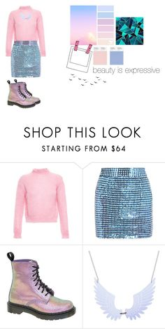 """""""Fashion has endless possibilities"""" by kzjkv7 ❤ liked on Polyvore featuring Filles à papa, Ashish, Dr. Martens, women's clothing, women, female, woman, misses and juniors"""