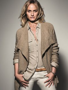 The Marc O´Polo Spring/Summer 2014 Campaign: represented by actress and supermodel Amber Valletta #followyournature #casual #marcopolo