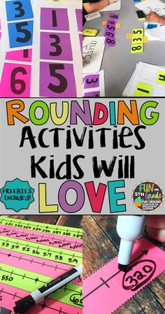 Find out how I had fun practicing rounding with upper elementary students with hands on activities and games! Freebies included.