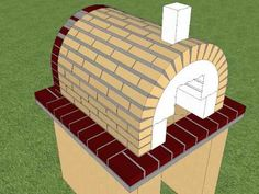 Brick Pizza Oven by BrickWood Ovens - DIY Pizza Oven