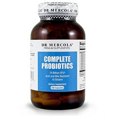 Dr Mercola's new and improved #Complete Probiotics features 10 strains of beneficial bacteria, including the highly effective strain, Lactobacillus acidophilus ...