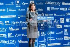 Anne Hidalgo launched the Smart City Forum of Greater Paris - Politique - via Démotix. Copyright : Christophe BONNET - Agence73Bis