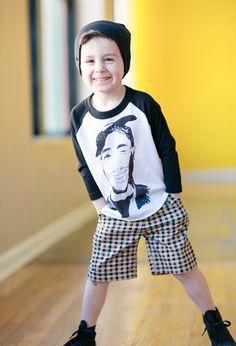Love this look!  Cool and trendy boys clothes!
