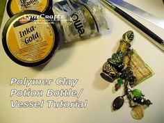 Creating a Polymer Clay Potion Bottle/Vessel Tutorial