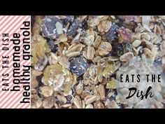 I love this homemade granola. A balance of sweetness from honey and little salt with that earthly smell of cinnamon. Recipe Please, Breakfast Bowls, The Dish, Granola, Homemade, Make It Yourself, Dishes, Eat, Healthy