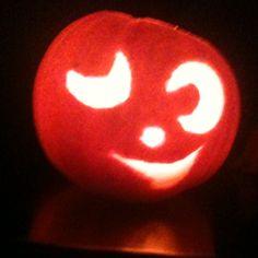 Miniature pumpkin!
