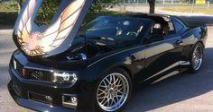Chevy Camaro with Trans Am Firebird kit