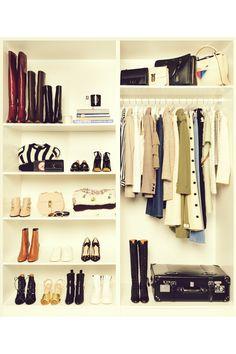 Leila Yavari opens her wardrobe to Vogue Leila Yavari, Walk In Wardrobe, Can Design, Design Ideas, Parisian Style, Parisian Fashion, Closet Organization, Organizing, Dressing Room
