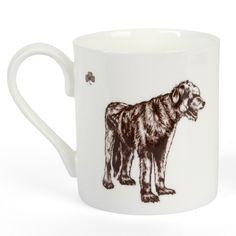 Irish Wolfhound Fine Bone China Mug Mug Printing, Irish Wolfhound, China Mugs, Beautiful Hands, Bone China, How To Draw Hands, Dogs, Prints, Animals