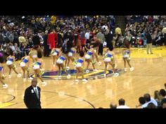 31bfe9b9d Warrior Girls Performing In Golden State Warriors vs. Trail Blazer 1 26 14
