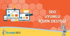 Site İçi SEO Çalışmalarında Tam Verim Elde Edebilmek İçin Sitenizde Yer Alan İçeriklerin SEO Uyumlu Olmasına Dikkat Edin. #seo #content rama motorları kullanıcıyı doyurucu ve özgün içeriğe sahip sitelere öncelik vermektedir. Bu hususta web sitesi sahiplerini özgün ve seo uyumlu makale satın almaya itmektedir. Web sitenizin ön sıralarda yer alması, seo çalışmalarında ki verimin artması için seo uyumlu özgün içerikler olmazsa olmazdır. http://www.stratejikseo.com/seo-uyumlu-icerik-destegi/