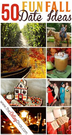 LOVE this!  A free Fall Bucket List printable plus TONS of fun, fall date ideas to put on it.  Totally gonna do this with the hubby.  www.TheDatingDivas.com #dateideas #datenight #fallfun
