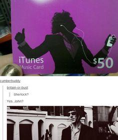 Sherlock iTunes