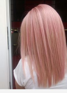 pink pastel hair 061 - 85 Pastel Pink Hair Ideas There is Blond Rose, Cabelo Rose Gold, Pastel Pink Hair, Baby Pink Hair, Pastel Blonde, Pink Blonde Hair, Pink Ash Hair, Dyed Hair Pink, Blonde Hair With Pink Highlights