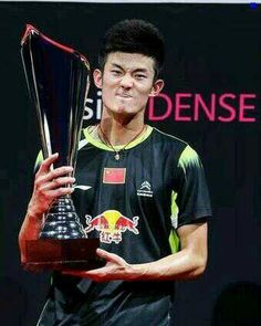 Chen Long the winner of #DenmarkSSP
