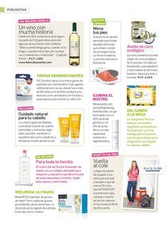 Suecos en la revista Saber Vivir. Octubre 2015