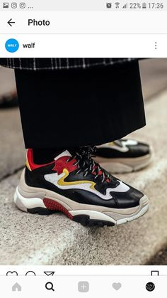 the best attitude 17bb2 7bf8a Sneakers Street Style, Sneakers Fashion, Fashion Shoes, Dad Sneakers, Dad  Shoes,