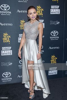 Actress Angelique Boyer attends the People En Espanol '50 Most Beautiful' at Espace on May 17, 2016 in New York City.