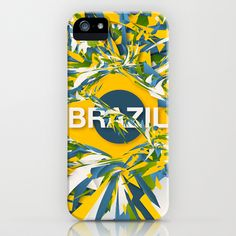 Abstract Brazil iPhone & iPod Case by Danny Ivan - $35.00