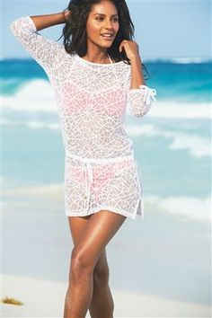 Long lace cover up #nextgetaway