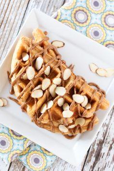Gluten Free Vegan Vanilla Almond Protein Pancakes. With protein powder ...