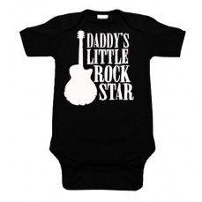 Daddy's Little Rock Star One Piece