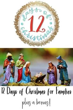 12 days of Christmas for families -- lots of ideas of ways to make Christmas more meaningful for you and your family -- or others. 11th Day Of Christmas, Days Before Christmas, Christmas Countdown, A Christmas Story, Christmas Carol, Christmas Games To Play, Christmas Ornaments To Make, Homemade Christmas Gifts, Christmas Colors