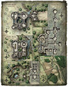 Scourge of the Sword Coast; Floshin Manor (Digital)