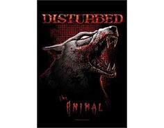 Disturbed - Animal - Textile Poster Flag