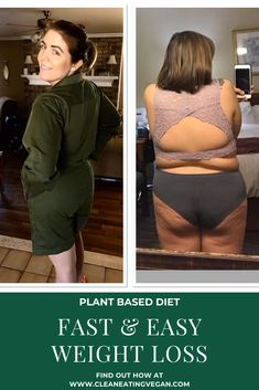 Have you tried to lose weight and have no idea where to begin? Weight loss can seem overwhelming and complicated, but it doesn't have to be. The good news is weight loss on a plant-based diet is easy! Personally, when I follow the guidelines outlined in this article, I easily lose 1-3 pounds a week. 2 Week Weight Loss Plan, Weight Loss Plans, Easy Weight Loss, Plant Based Vegan Diet, 3 Pounds, Trying To Lose Weight, Good News, Detox, Two Piece Skirt Set