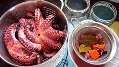 Pickled Octopus, Pickled Octopus Recipes, Greek Pickled Octopus