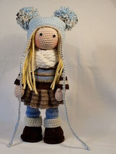 ❤ Doll JOYA pattern by CAROcreated design