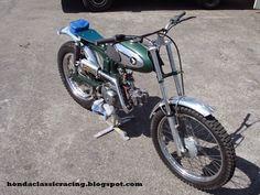 Honda Classic Racing: S90 trial bike finished