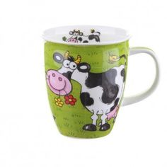 Crazy gang cow mug